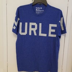 Hurley blue graphic tee